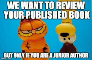 Do you know a young writer who has self-published a book? We want to review it. Click for submission info.