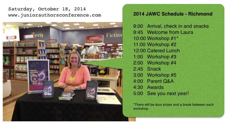 Junior Authors Conference 2014 Schedule