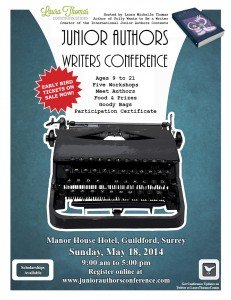 Junior Authors Writers Conference UK Poster