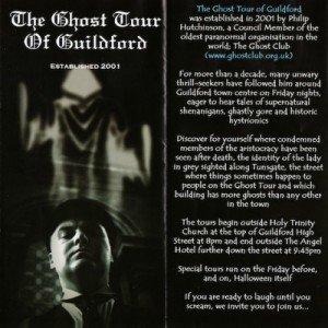 Ghoulish Guildford jaBlog!