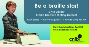 Braille Creative Writing Contest - jaBlog!
