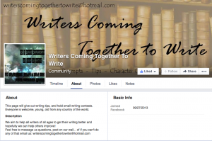 Writers Coming Together to Writer Facebook jaBlog!