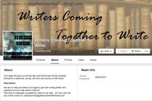 Writers Coming Together to Writer Facebook jaBlog!