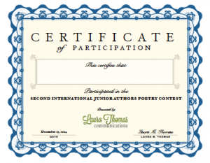 Participation certificates are now available in the LTC Store.